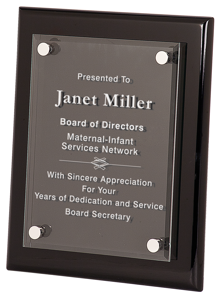 Acrylic Floating Plaques