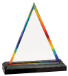 RAINBOW TRIANGLE IMPRESS ACRYLIC